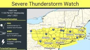 NWS issues second consecutive severe ...