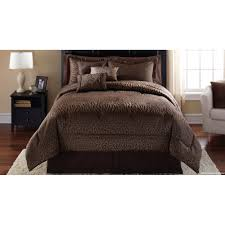 details about mainstays safari 7 piece bedding comforter set