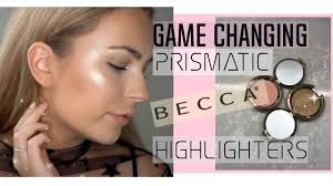 Becca Light Chaser Bellini New Becca Light Chaser Highlighters Review Swatches Application