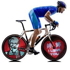 M232 Wheel Light Customized Oem Programmable Bicycle Led Attractive Outdoor Bike Spoke Wheel Lights Rechargeable Bicycle Wheel Lights Buy Wireless Custom Message