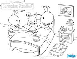 Calico Critters Coloring Pages At Getdrawingscom Free For