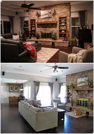 glamorous sofa design around our red brick fireplace living room revamp wanted to keep the