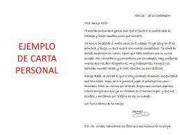 Como Hacer Una Carta Personal Como Escribir Una Carta Personal