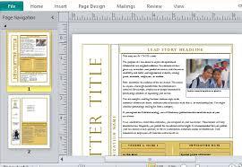 free microsoft word newsletter templates free newsletter templates