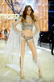 josephine skriver josephine skriver walks the runway during the 2016 victoria s secret fashion