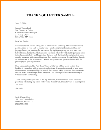 Interview Thank You Letters Sample Resume Template