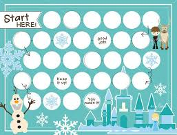 Elsa Potty Training Chart A Printable Rewards Chart To Get Kids To Do Anything Almost