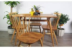 vintage 70s furniture. Ercol Table And Chairs Breakfast Retro Vintage 50s 60s 70s Refinished Photo 1 Furniture