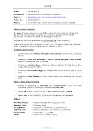 Amusing Php Programmer Resume Format On Web Developer Cover Letter 3