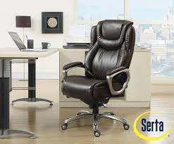 com serta big and tall smart layers premium elite foam harmony executive office chair brown kitchen dining