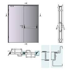 open double door drawing. 2212-2 Open Double Door Drawing A