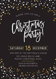 Formal Christmas Party Invitations Christmas Party Invitations Customise Print With Paperlust
