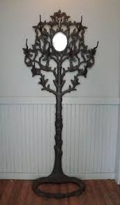 Cast Iron Tree Coat Rack