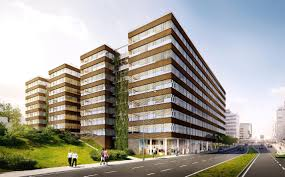 microsoft office building. Microsoft Selects New Headquarters In Prague Office Building E