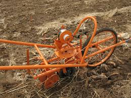 the knapik seeder imported from brazil had a robust double disk opener