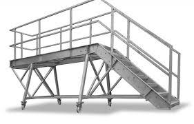 Hier stehen gerade treppen mit und ohne podest zur auswahl, wie auch treppen mit viertelpodest oder. Container Treppe Typ 1500 Verz K60 Gitterroste Online Shop