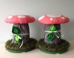 mushroom stool video game theme custom furniture. Brilliant Video Mushroom Stool Pair Set Of 2 Chairs Stools Footstool Ottoman Kids Room  Wooden Stool Seating Pink And White Fairytale Forest Inside Video Game Theme Custom Furniture S