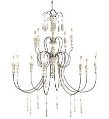 18 light maria theresa crystal chandelier currey company 9117 hannah 12 light chandelier with stockholm white rust finish upside down 18 light crystal