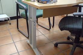 How tall is a desk Standing Desk If You Want To Make Permanent Change Increase The Height Of Your Desk Swap Out Existing Legs For Replacements Start By Removing Each Leg From How Taller If You Want To Make Permanent Change Increase The Height Of Your