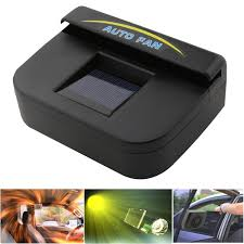 Solar Power Cooler Amazoncom Fordex Group Solar Powered Car Auto Air Vent Cooling