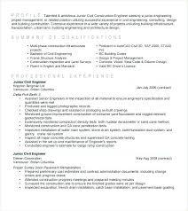 Civil Engineering Resume Example Civil Engineer Resume Template