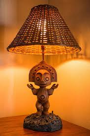 tiki lighting. Unique Lighting Best Home Endearing Tiki Lamps Of 75 I Ve Made Images On Pinterest  Lamp To Lighting A