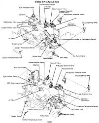 Mazda B2200 Fuel Line Diagram