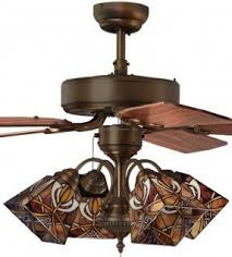 ceiling fan light covers. details about mission 4-light tiffany style stained glass ceiling fan light covers h
