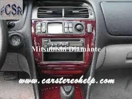 mitsubishi diamante car stereo removal youtube mitsubishi diamante radio wiring diagram mitsubishi diamante car stereo removal