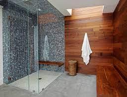 concrete floor walk in shower