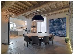 Medium wood dining room islceiling fan belman homes kitchen