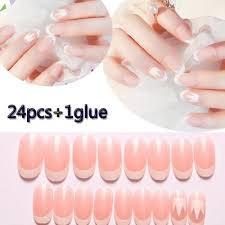 <b>Накладные ногти</b>, Цвет: <b>Розовый</b> – цены с доставкой из Китая в ...