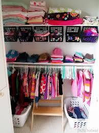 basket closet organization
