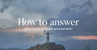 how to answer what s your greatest achievement cv library how to answer whats your greatest achievement