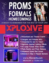 flyer for an event school events xplosive entertainment a nj based