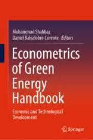 Econometrics of Green Energy Handbook | SpringerLink