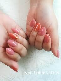 ピンクゴールドミラーネイル
