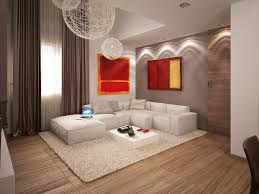wall accent lighting. Living Modern Apartment Lounge Wall Accent Lighting White Fur Also Bedroom