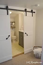 easy diy double barn door tutorial for interior sliding barn doors with a budget friendly resource