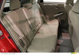 the prius was refreshed for 2010 the only notable change was that the head restraints for 2d 2p now flip up down and are removable the same head