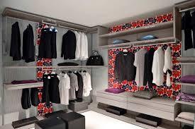 Walk In Closet Natural Wooden Closet With Walk In Closet Design And Shoe Storage