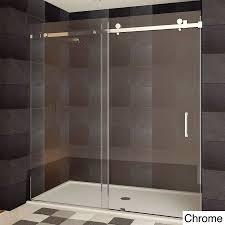 Shower Door kohler levity shower door installation photos : LessCare ULTRA-B Semi-frameless Sliding Shower Doors   Shower ...