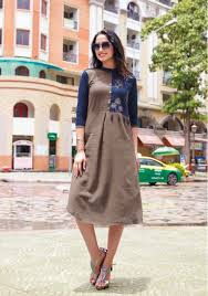 Ethnic Kurti Design Lenin Kurtis Latest Designs At Wholesale Ethnic Export