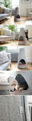 how to cover furniture. No More Shredded Sofas The Cone Is Worlds Most Beautiful Scratching Post And Nap Space How To Cover Furniture