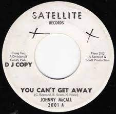 Johnny McCall – You Can't Get Away / Let's Call It A Day (1965, Vinyl) -  Discogs