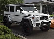 When mercedes introduced the bold, imposing g500 4x4 squared at the 2015 geneva motor show, it said it would consider production based upon the reaction it received. Mercedes Benz G500 4 4 Wikipedia