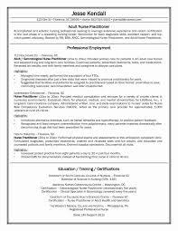 Best Resume For Nursing Jobs Best Of Example Nursing Resume New Grad