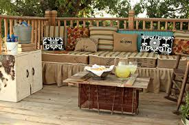 old claw foot tubs whiskey barrels tree trunks large wooden spools and discarded church pews make exceptional outdoor furniture too backyard furniture ideas
