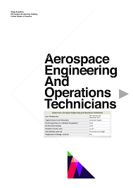 Gx Aerospace Engineering And Operations Technicians And Operations
