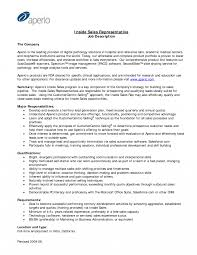 Resume Description Examples Job Description Examples For Resume Outside Salestative Example 68